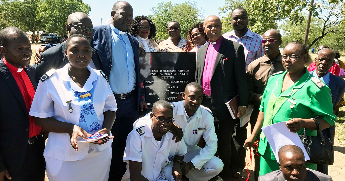 Coming together for health in Zimbabwe