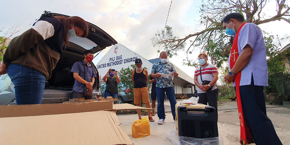 United Methodists rally to help typhoon survivors