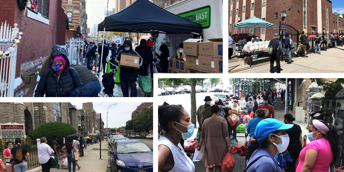 Feeding the 5,000 (weekly) in New York