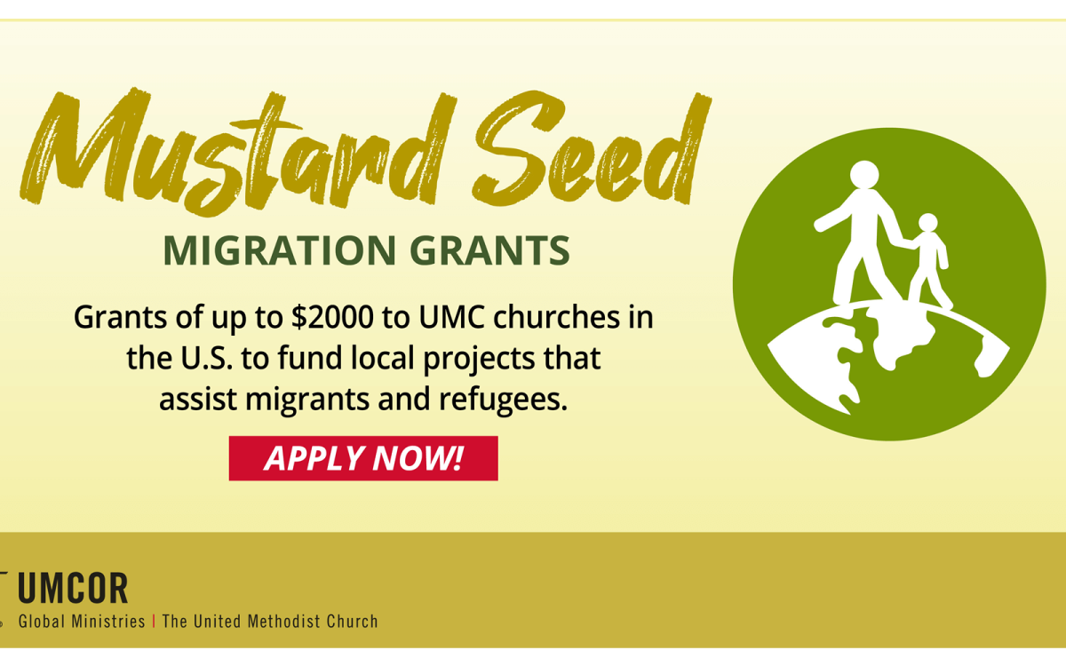 UMCOR is committed to providing support for refugees and migrants around the world.