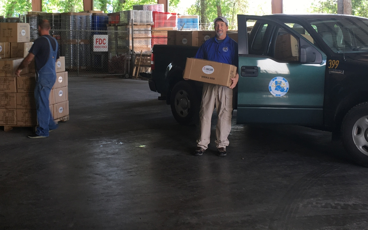UMCOR donates needed supplies to first responders in Louisiana