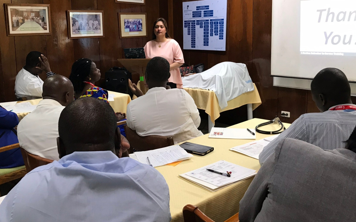 Through training in the Philippines, Africans enhance C-section skills