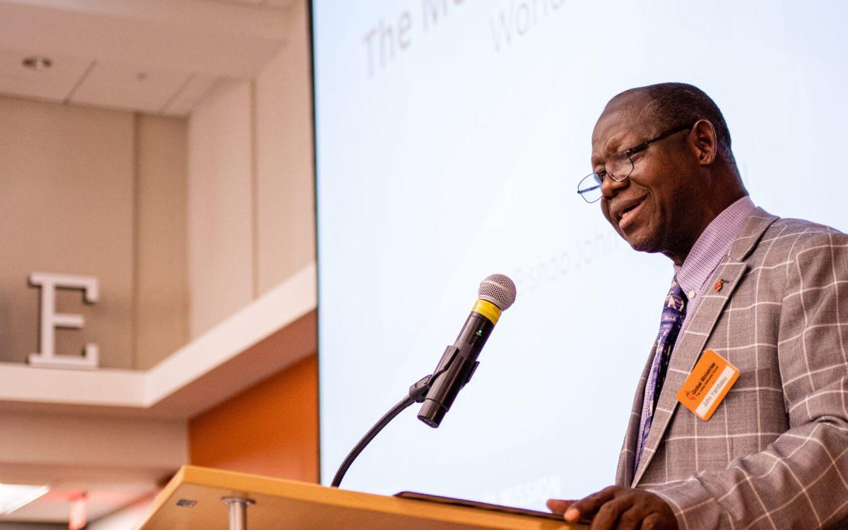 Global Ministries remembers Bishop John Yambasu