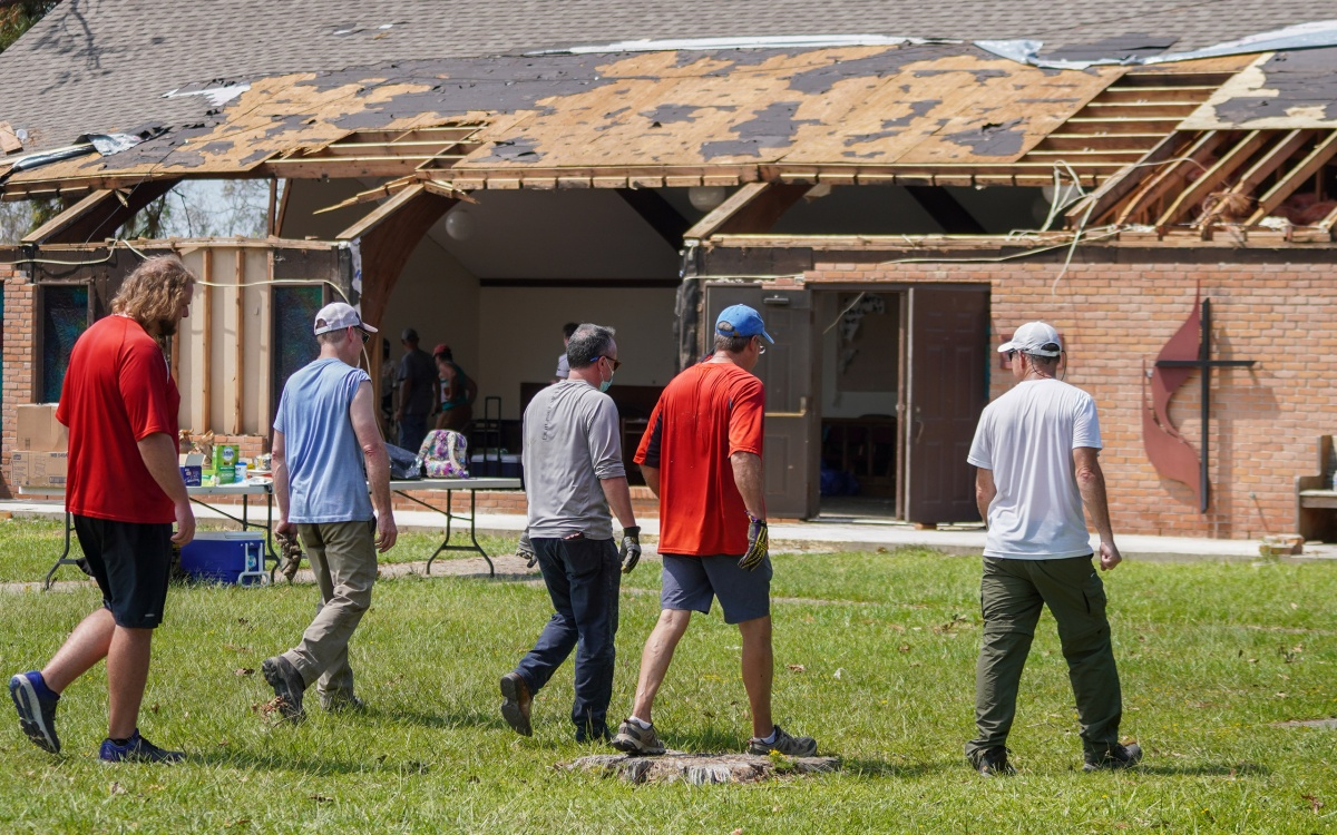 """""""Does anybody outside this region care?"""" asks storm survivor; UMCOR answers the call"""