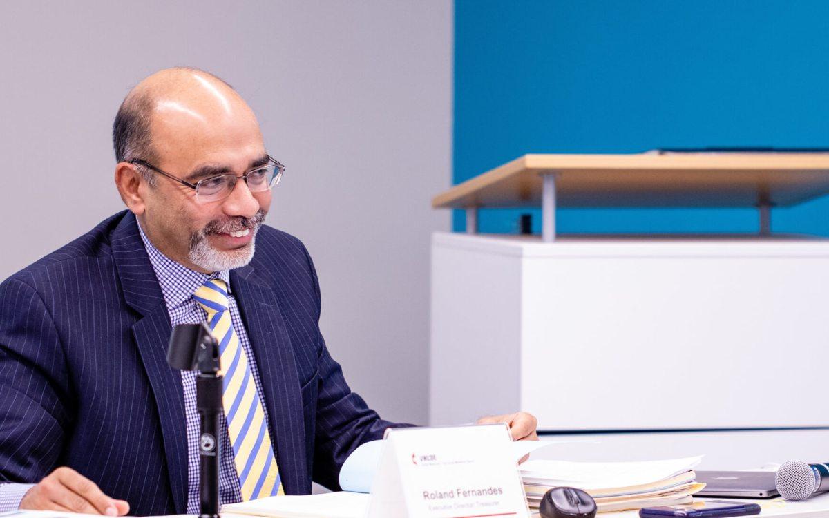 Roland Fernandes begins leadership of Global Ministries