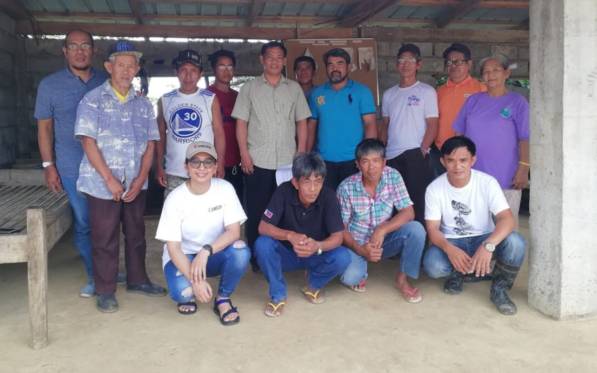 """UMCOR partners with a community in the Philippines that practices """"Bayanihan,"""" the spirit of communal unity, in the face of landslides and relocation"""
