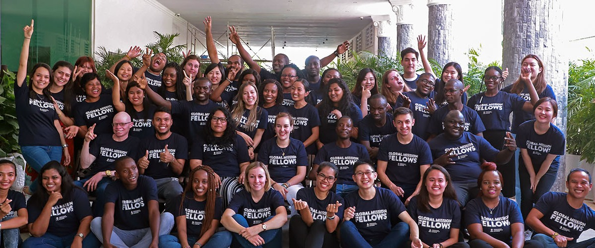 A new cohort of Global Mission Fellows trained and commissioned to serve