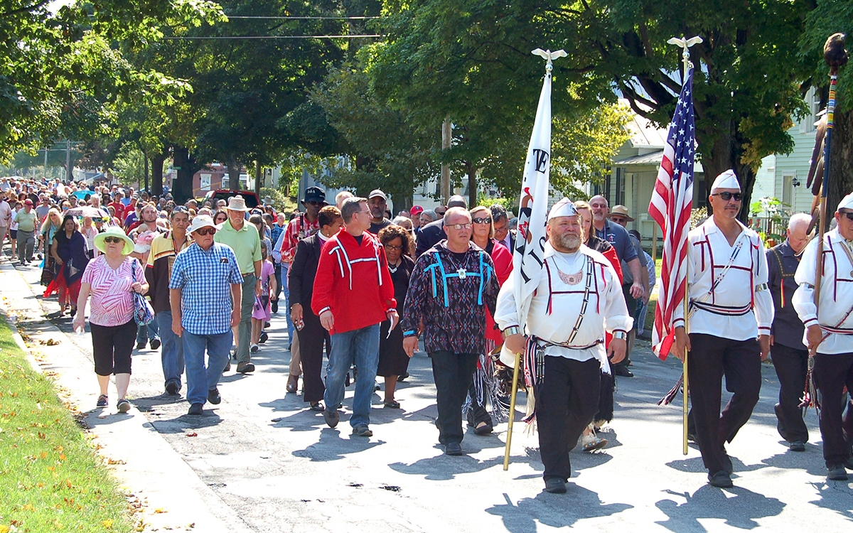 United Methodists return lands in Ohio to the Wyandotte people, held in trust for 176 years