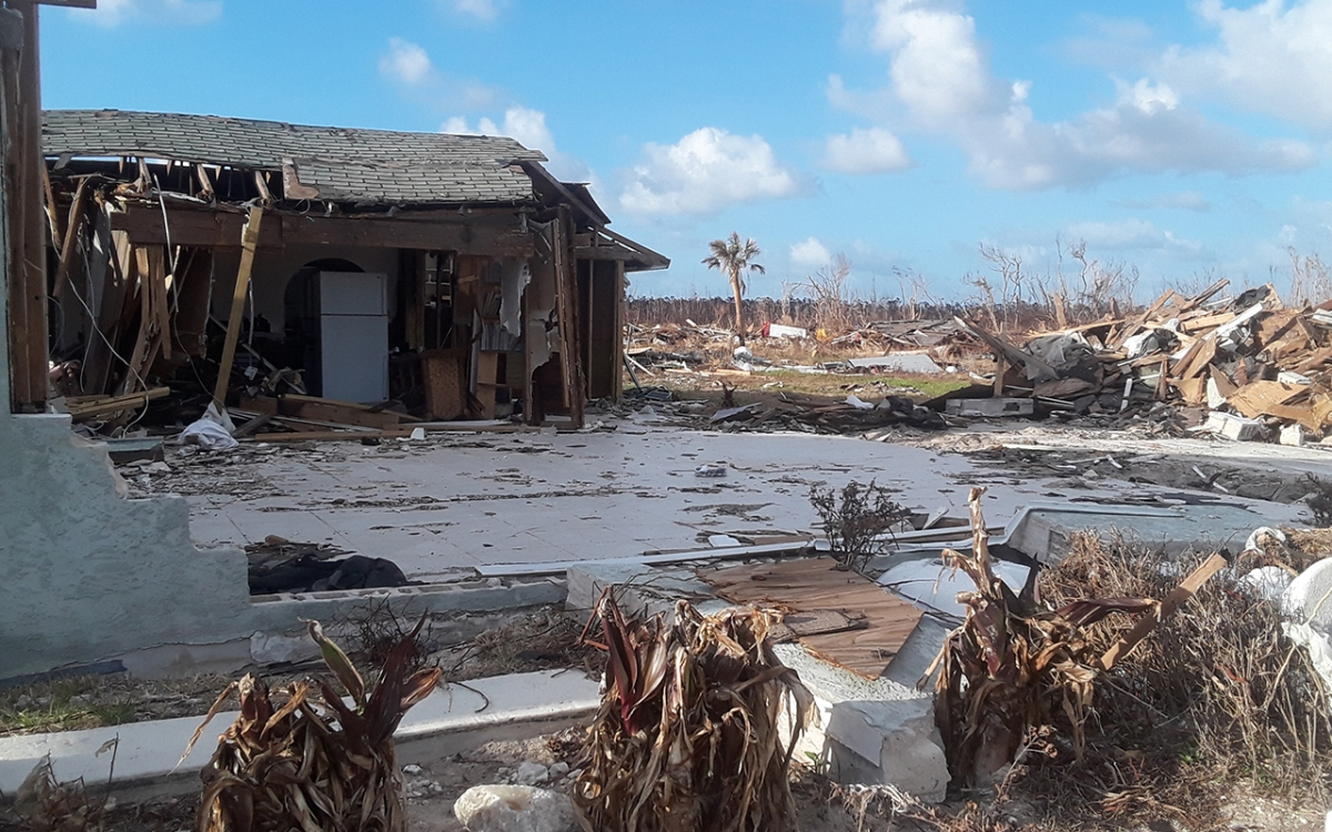 Hurricane Dorian: From devastation to resilience in the Bahamas
