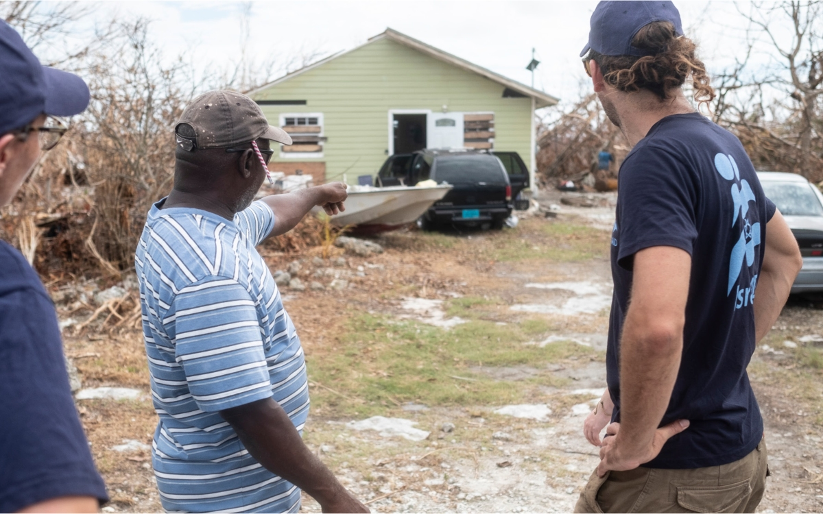 Relief and fresh water for the Bahamas