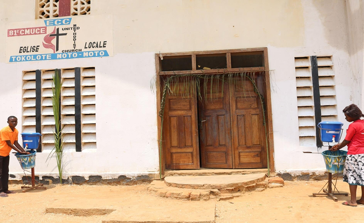The United Methodist Church response to Ebola in East Congo
