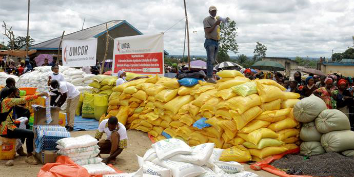 UMCOR aids displaced people in Congo