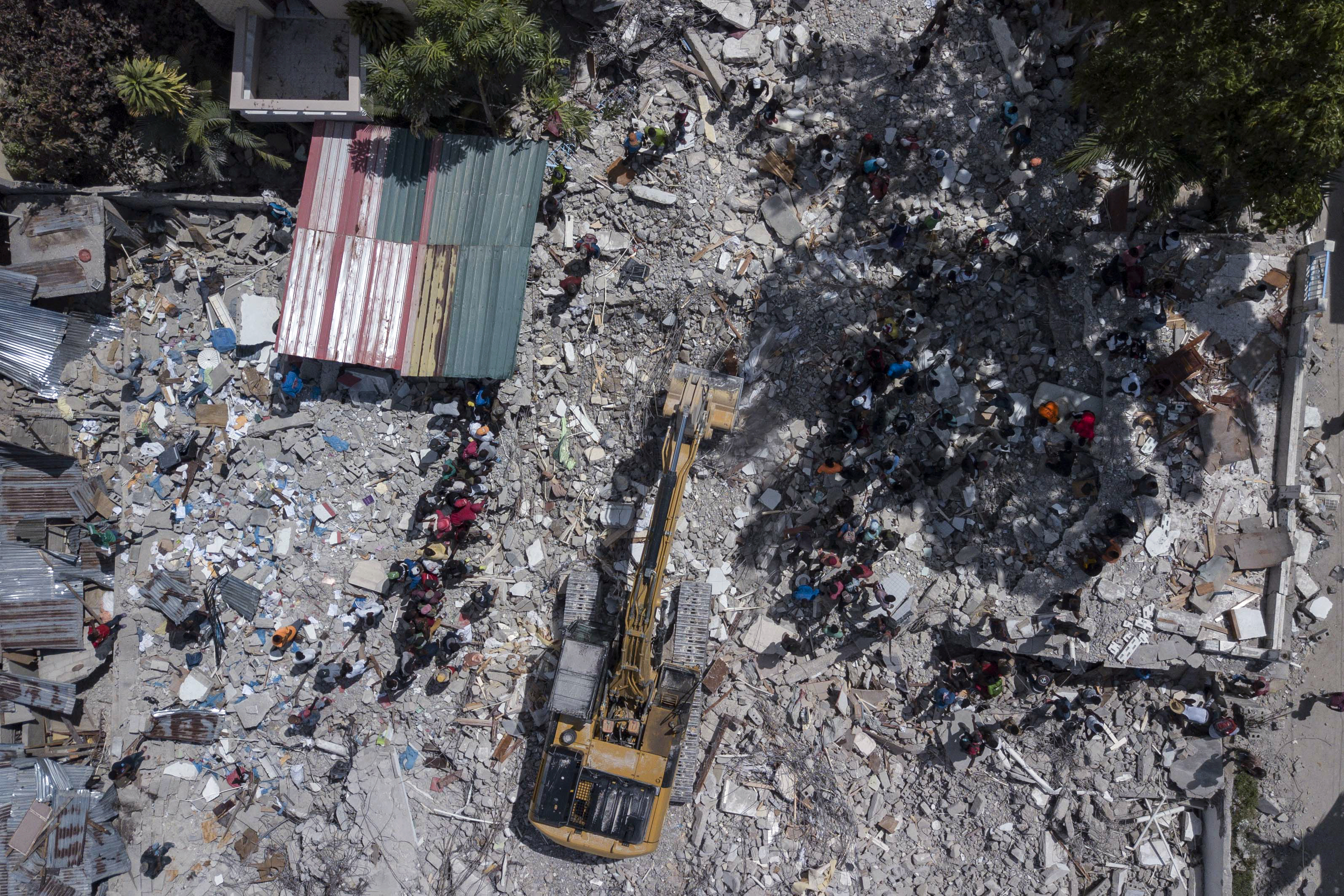 Standing with Haiti amid quake and storm