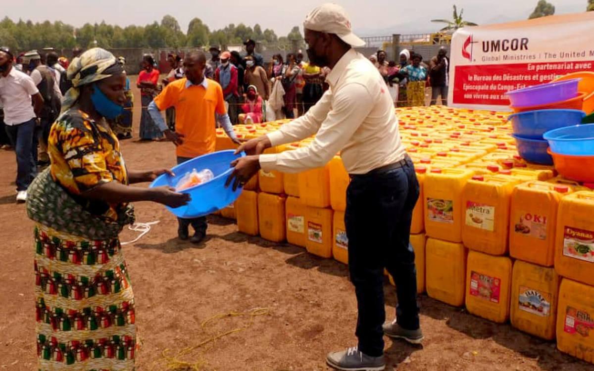 UMCOR's international humanitarian relief in 2021